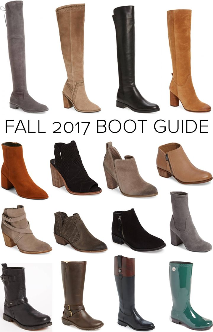 Last week I shared my Fall 2017 Wardrobe Essentials so today I thought we could talk more about boots since they are one of the best things about fall fashion. Can I get an amen? When deciding how many pairs of boots you need and what colors and styles you should to have in your closet, it's important to do a quick lifestyle audit and think about what types of clothing you usually wear, what your weather is like, and of course your personal style aesthetic.