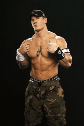 Jon Cena can wrestle with me any day
