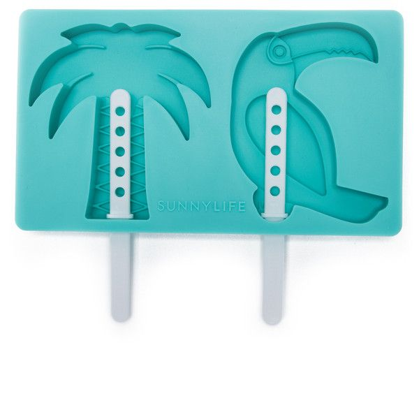 Sunnylife Tropical Popsicle Molds ($19) ❤ liked on Polyvore featuring home, kitchen & dining and kitchen gadgets & tools