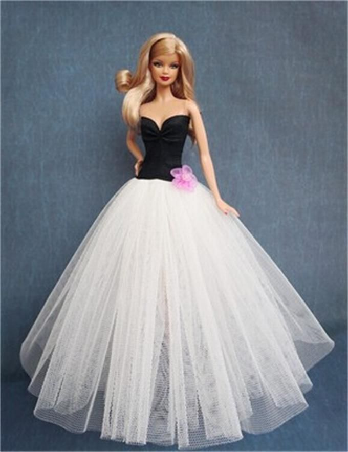 Cheap dress latin, Buy Quality dresses in new york directly from China dress kimono Suppliers: 2014 New Arrival Lace Wedding Dress Ball Gown Wedding Dress for Barbie Doll with 5 Layers of Lace Nice Gift for Girl&nbs