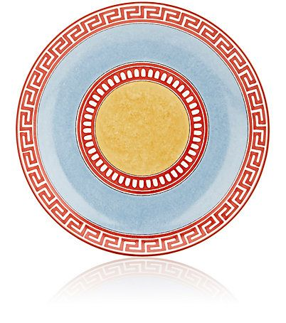 We Adore: The Giardino Dei Semplici Celeste Salad Plate from Richard Ginori at Barneys New York