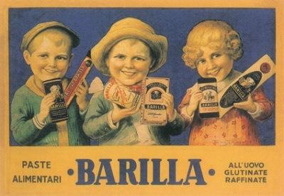Barilla advertisement, circa 1933.