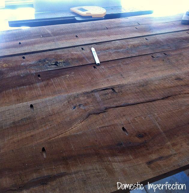 Pecan Farmhouse Dining Table