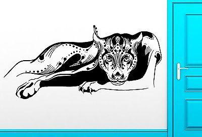 Wall Sticker Vinyl Decal Panther Cougar Aggressive Predator Decor (z2510)