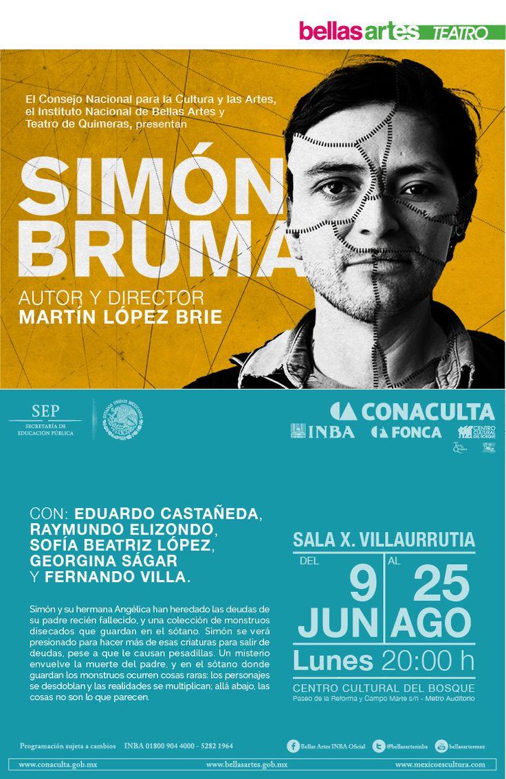 #SimónBruma #Teatro