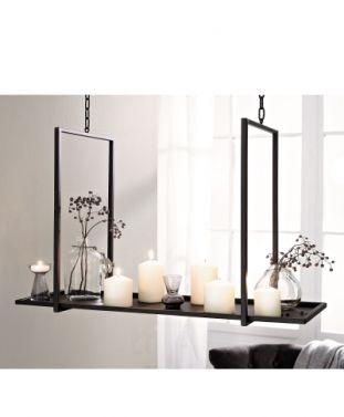 Kerzentablett zum Hängen - Kerzenleuchter hängend