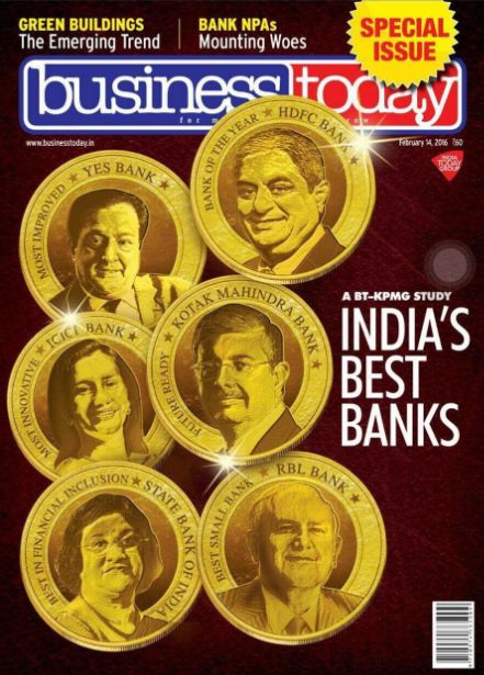 We are happy to inform that our RBL Bank has been recognised as The Best Overall Bank (Small Category) in a recent Business Today – KPMG study. Congratulations Team RBL!   Apart from the overall recognition, we have continued to win the recognition of The Best Bank (Growth) for the 4th year in a row as well as The Best Bank (Quality of Assets) for the year 2015. We hope, the RBL Bank keep winning many more such accolades in the future as well.  #BestBank #RBLBank #BestOverallBank #Banking