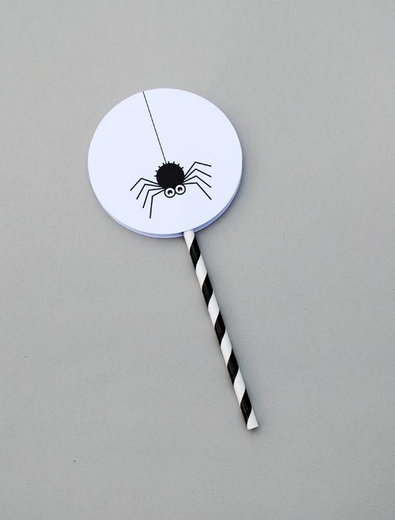 DIY Halloween Spinning Toy