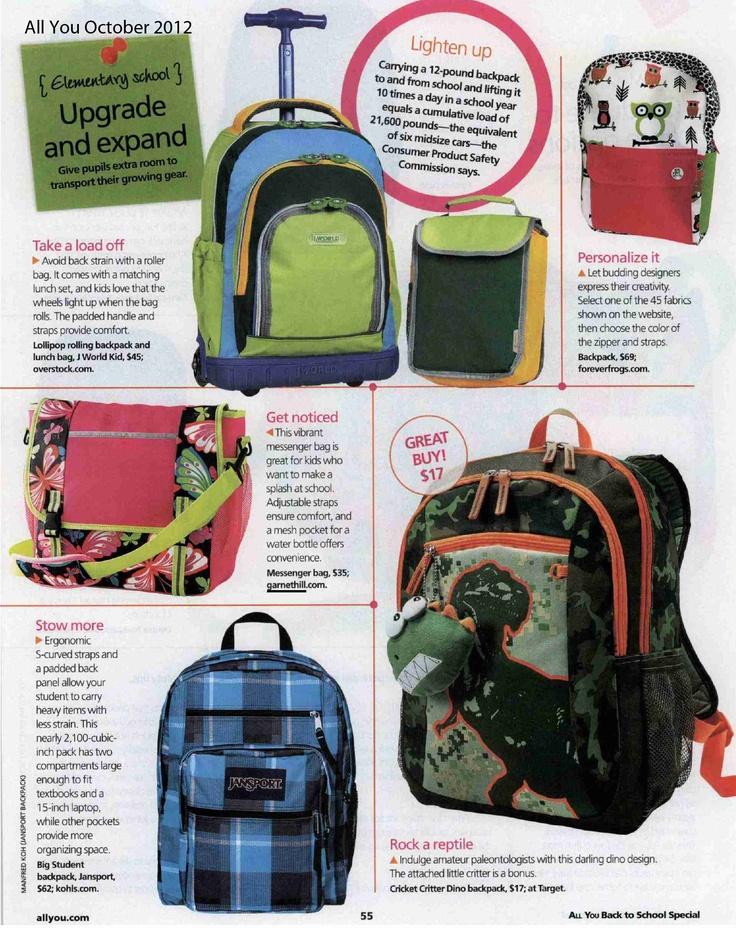 Garnet Hill Messenger Bag in All You