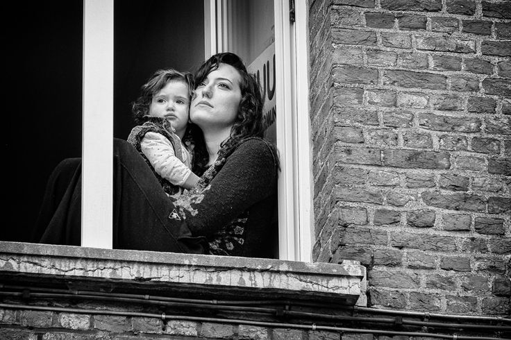 Vrouw en kind, woman and child, Fuji X-T1