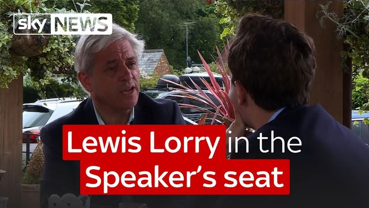 Lewis Lorry in the Speaker's seat