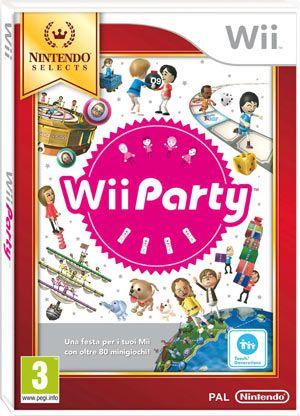 Wii Party è un divertentissimo gioco in cui è possibile partecipare a oltre 80 pazzi e impegnativi minigiochi da solo o con i personaggi Mii di amici e familiari.