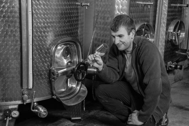 Dégustation avec Raphael  Wine tasting with Raphael    Vins Bio d'Alsace - Domaine de l'Envol - Organic Wine