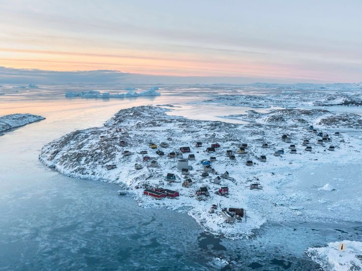 Isortoq, Greenland. Image from NATIONAL GEOGRAPHIC, September 2014.
