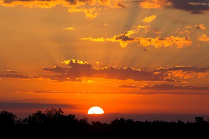 7. Kansas Sunsets (anywhere)