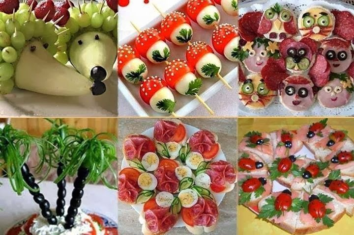 Something old, something new, Something for your home, kitchen or only for you: Food decorations - Dekoracija hrane