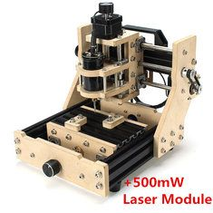 500mW Desktop DIY CNC Micro Laser Engraving Machine Assembling Kits