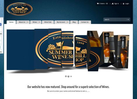 Very successful ecommerce website I built for the Summer Hill Wine Shop in Sydney. Their national database is expanding quickly :)
