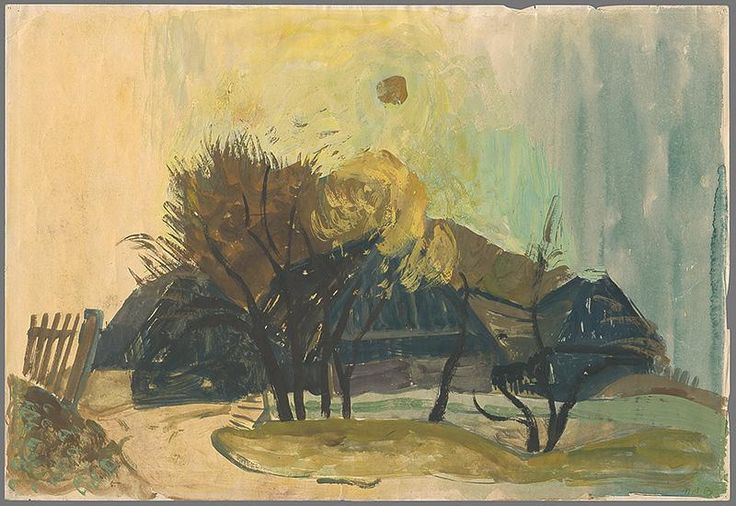 Bazovsky kresba, voľná, datovanie: 1955, rozmer: šírka 43.0 cm x výška 29.0 cm