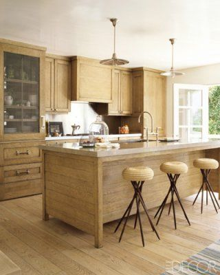 Jeffrey Alan Marks. Like the shaker style cabinets and metal mesh cabinet