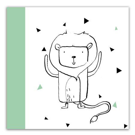 Leeuw | Horoscoop Geboortekaartjes van Gaafkaartje