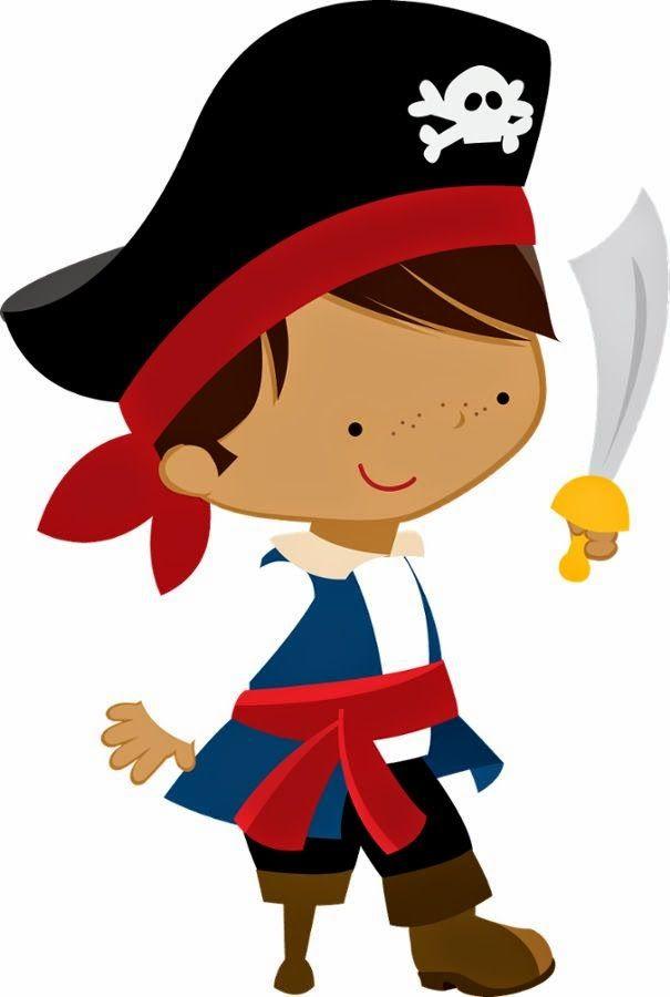 Пират детская картинка