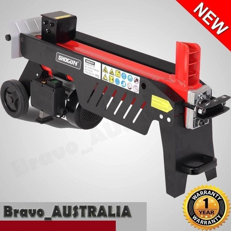 New 240v Portable Log Splitter 5 Ton Hydraulic Chopper Block Fire wood Tool