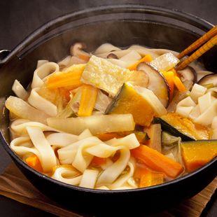 上州の郷土料理 おっきりこみ | レシピ | 花山うどん公式サイト
