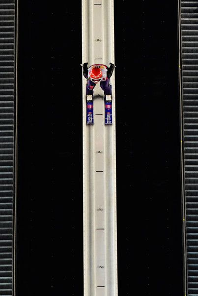 Katharina Althaus of Germany competes during the Mixed Team HS100 Normal Hill Ski Jumping during the FIS Nordic World Ski Championships at the Lugnet venue on February 22, 2015 in Falun, Sweden. (January 8, 2014 - Source: Mike Hewitt/Getty Images Europe)