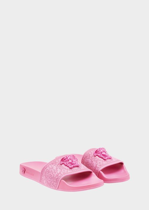 fb19a32ba5b VERSACE Baroque Medusa Slides.  versace  shoes  pumps
