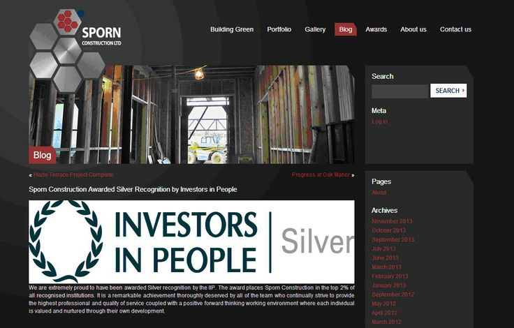 Sporn Construction awarded Silver IIP accreditation