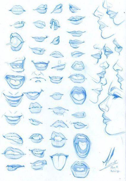 Zeichnen Gesichter Comic-Anatomie 45 Ideen für 20…