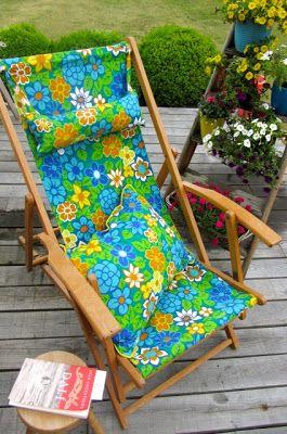 Villa Lisa: zalige stoel!