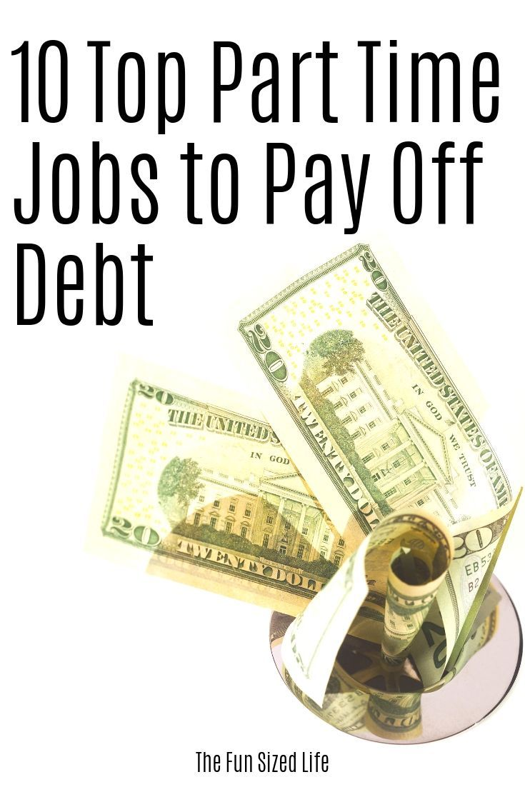 10 Flexible Part Time Jobs to Pay Off Debt – Set Your Own Hours