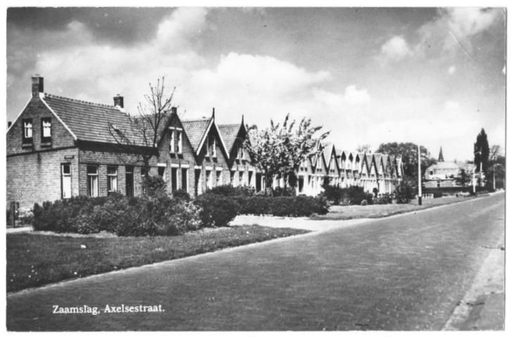 Zaamslag   Axelsestraat   1953