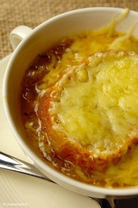 Klassieke Franse uiensoep - Lovemyfood.nl