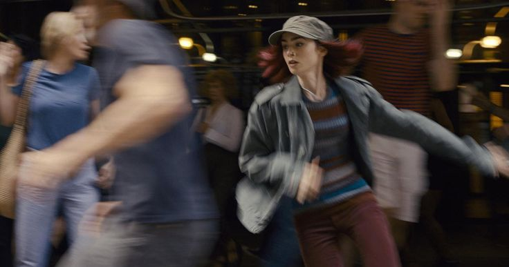 First Look at Lily Collins in Netflix's Okja -- A young girl tries to keep a powerful company from kidnapping her massive animal friend in the Netflix original movie Okja, coming this summer. -- http://movieweb.com/okja-movie-photos-storyboards-lilly-collins/