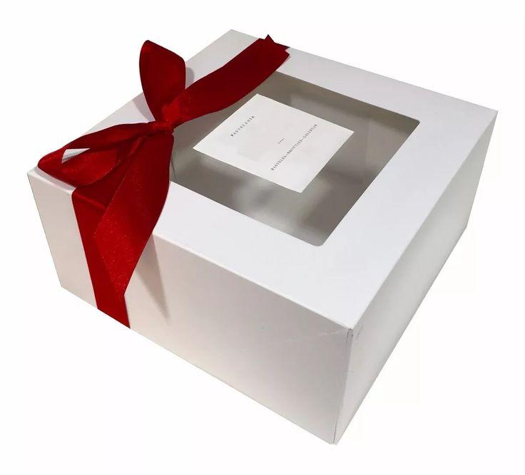 paquete de 50 cajas para pastel chico ($10 c/u)