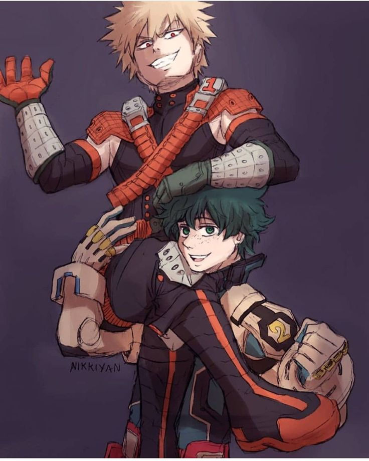 What happens when Katsuki asks for help to set up a