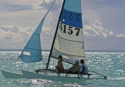 Hobeycat Sailing. Visit our website at www.raniresorts.com