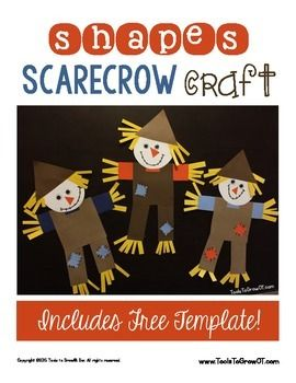 Autumn has arrived and we have a fun fall themed scarecrow craft that kids will love to make that addresses a variety of fine motor, bilateral integration, visual motor coordination, and praxis skills. We have included a FREE Printable template/pattern for this scarecrow craft.