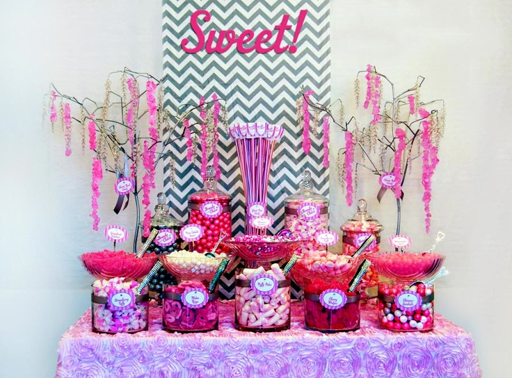 a quick pink candy buffet for 100 jorden collins candy buffets 949 231