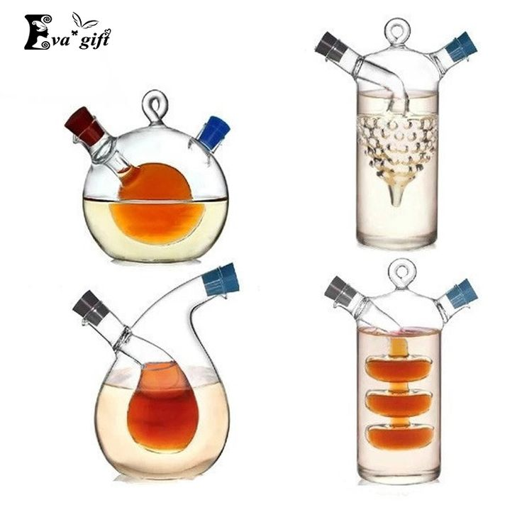 High temperature spice bottle Oil and vinegar galss bottle sauce glass jar sealed seasoning glass storage wine bottles for bar