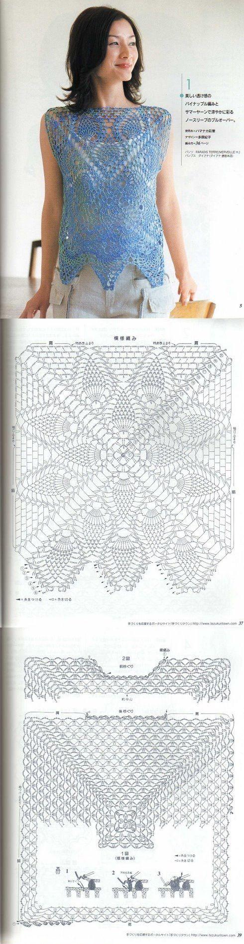 Crochet... Top chart...