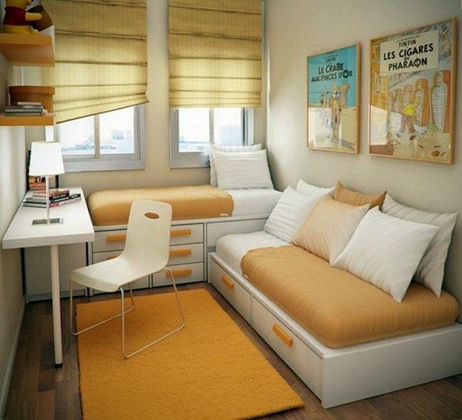 10 Fabulosas ideas para un dormitorio infantil pequeño
