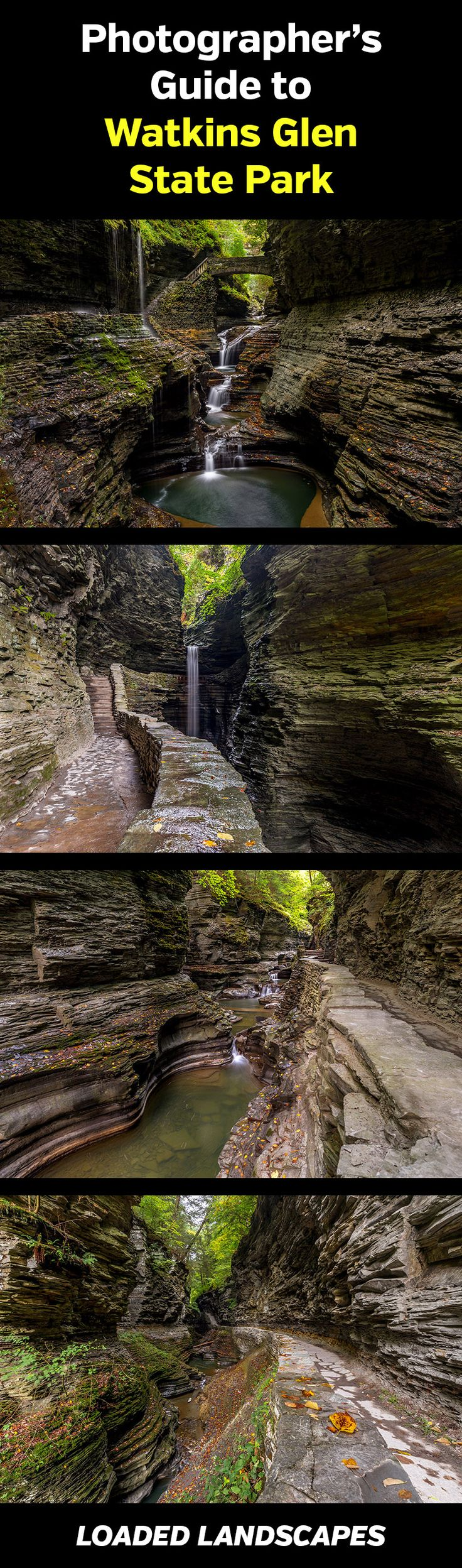 Guide to Photographing Watkins Glen State Park (New York)