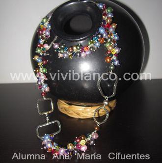 Collar de Perlas Cultivadas. Curso de Joyería de ViviBlanco