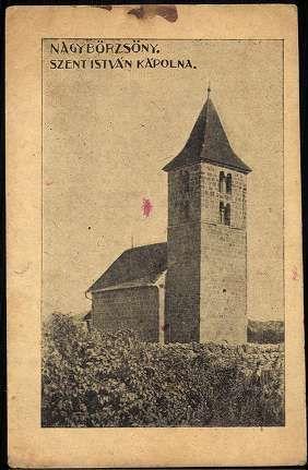 Nagybörzsöny. Szent István kápolna   Képeslapok   Hungaricana
