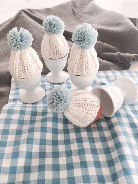 Osterdeko: Eierwärmer stricken - Meine fabelhafte Welt