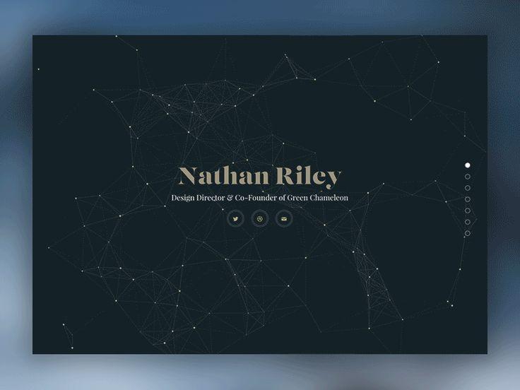 UI/UX Works by Nathan Riley | Abduzeedo Design Inspiration